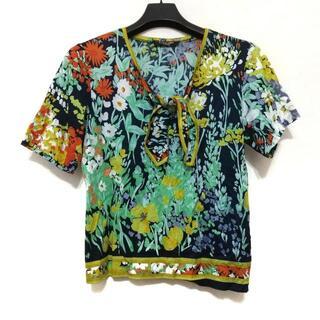 LEONARD - レオナール 半袖Tシャツ サイズL 花柄