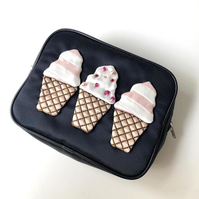 LUDLOW(ラドロー)のludlow 阪急限定 ソフトクリーム ポーチ レディースのファッション小物(ポーチ)の商品写真
