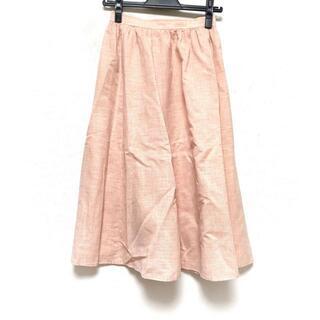 クロエ(Chloe)のクロエ ロングスカート サイズ40 M - 麻(ロングスカート)