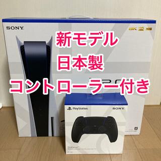 SONY - 新品 PS5 本体 ディスクドライブ搭載モデル+DualSense Black