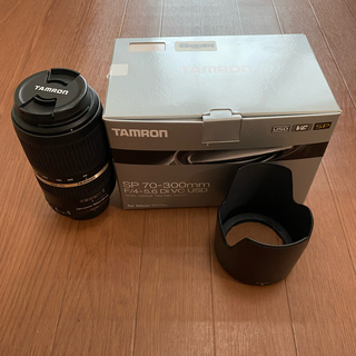 TAMRON - TAMRON SP70-300F4-5.6DI VC USD 本日まで