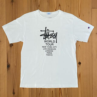 STUSSY×champion Tシャツ厚手生地(Tシャツ/カットソー(半袖/袖なし))