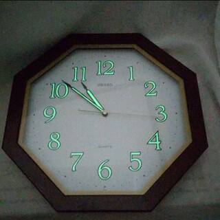 SEIKO 壁掛時計 掛け時計 八角形