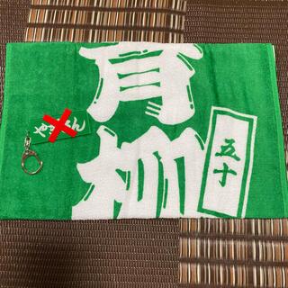ハンシンタイガース(阪神タイガース)の阪神タイガース 青柳 シークレットタオル(応援グッズ)