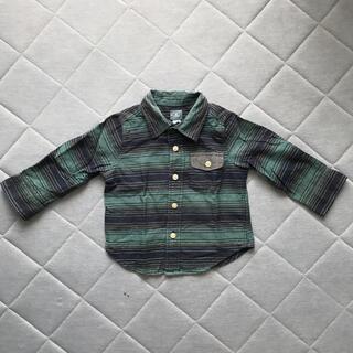 ベビーギャップ(babyGAP)のbabyGapシャツ80(シャツ/カットソー)