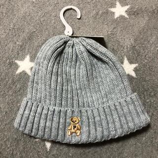 ポロラルフローレン(POLO RALPH LAUREN)のPOLO BABY 新品未使用 ポロベア ニット帽子(帽子)