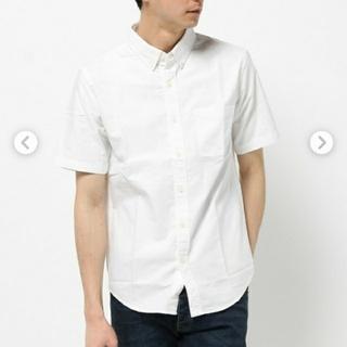 グローバルワーク(GLOBAL WORK)のXL グローバルワーク 白コットンシャツ XL(シャツ)