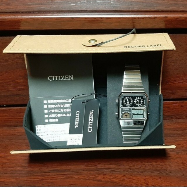 CITIZEN(シチズン)の【新品】シチズンCITIZEN アナデジテンプ復刻モデルJG2101-78E メンズの時計(腕時計(アナログ))の商品写真