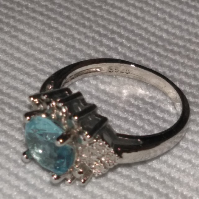 アクアマリン ブルートパーズ指輪 レディースのアクセサリー(リング(指輪))の商品写真