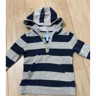 ベビーギャップ(babyGAP)のBabyGAP パーカー(Tシャツ/カットソー)