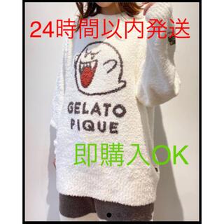 gelato pique - ジェラートピケ ジャガードセットアップ テレサ マリオコラボ レディース