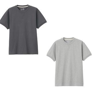 ムジルシリョウヒン(MUJI (無印良品))の未使用 無印良品2色セット Tシャツ(Tシャツ/カットソー(半袖/袖なし))