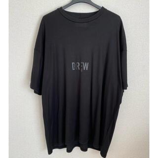 1LDK SELECT - stein PRINT TEE -DREW- シュタイン tシャツ ブラック M
