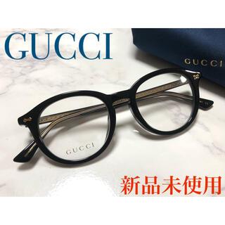 Gucci - ★新品★ ✴︎レア✴︎ 正規品 GUCCI メガネ ボストン 黒 CHANEL