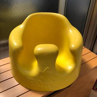 バンボ(Bumbo)のバンボ bambo テーブル付き イエロー 黄色  ハゲ、剥がれ等あります。(その他)