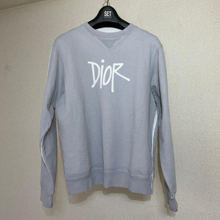 ディオール(Dior)のdior✖️stussy トレーナー(スウェット)