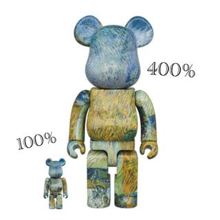 MEDICOM TOY - ゴッホ展 BE@RBRICK ベアブリック 100%&400%