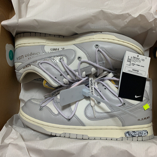OFF-WHITE - off-white  DUNK Low 49/50 SNKRS当選国内正規品❣️