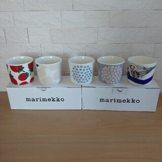marimekko - 新品 marimekko ラテマグ 5個