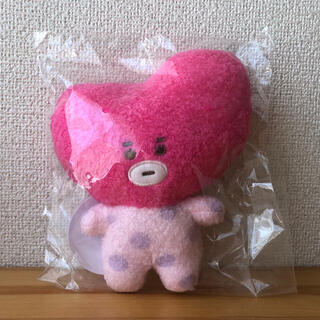 防弾少年団(BTS) - BT21 ぬいぐるみ TATA 日本限定 ピンクカラー