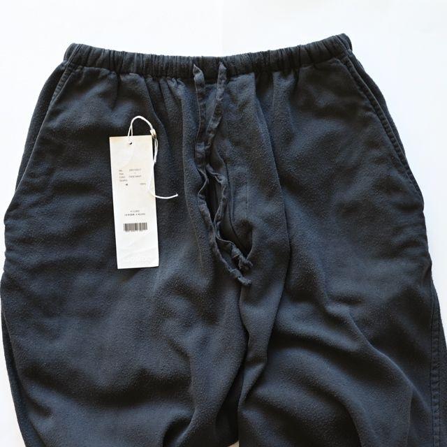 COMOLI(コモリ)のCOMOLI 21AW シルクネル ドローストリングパンツ メンズのパンツ(その他)の商品写真