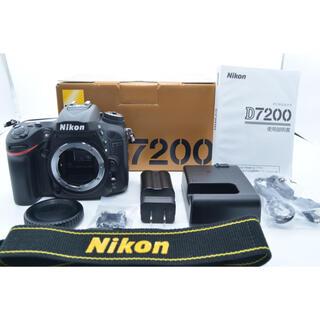 Nikon - 【美品】Nikon D7200 ボディ シャッター数1766!
