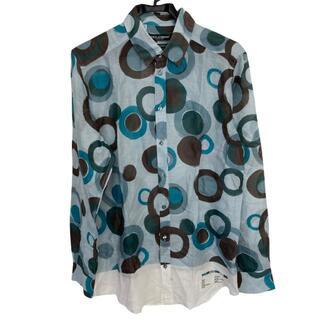 ドルチェアンドガッバーナ(DOLCE&GABBANA)のドルチェアンドガッバーナ 長袖シャツ 40 M(シャツ)