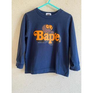 アベイシングエイプ(A BATHING APE)のアベイシングエイプ  BAPE ロンT(Tシャツ/カットソー)