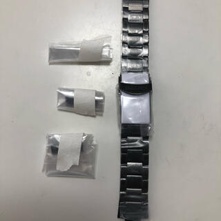 SEIKO - セイコー ブラックメッキ ブレスレット SRPD 新品 22mm