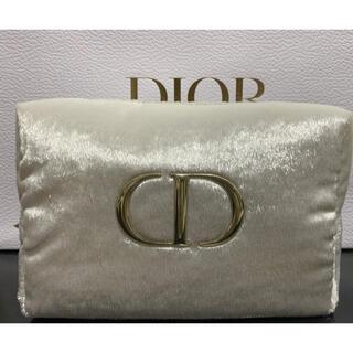 Christian Dior - おまけ付 未使用ディオールポーチ ホワイト