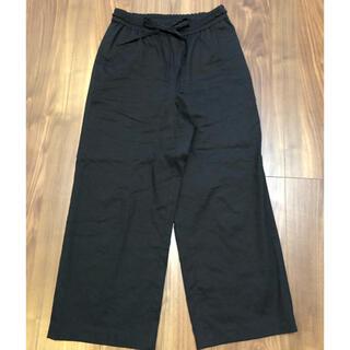 Theory luxe - セオリーリュクス  セミワイドパンツ くるぶし丈 38 ブラック
