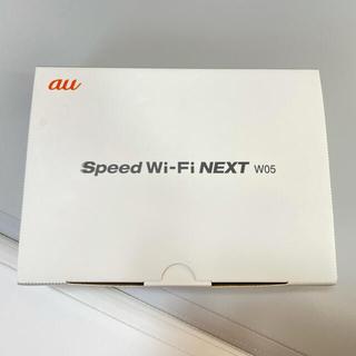 HUAWEI - au WiMAX2+ speed Wi-Fi NEXT w05