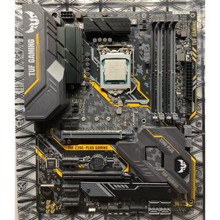 ASUS - CPU i5-9600KF マザーボード TUF Z390 セット
