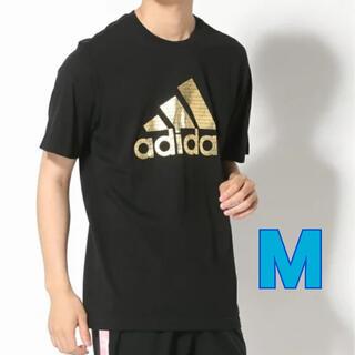 adidas - アディダス adidas  半袖Tシャツ 黒 M
