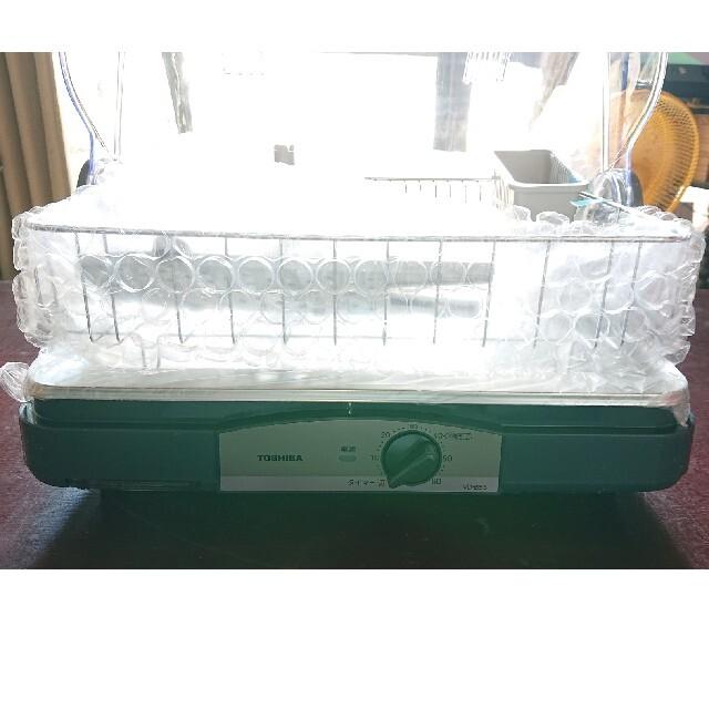 東芝(トウシバ)の東芝食器乾燥機 VD-B5S ブルーブラック【新品未使用】 スマホ/家電/カメラの生活家電(食器洗い機/乾燥機)の商品写真