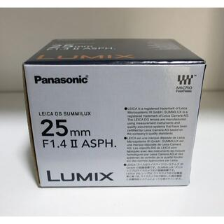 Panasonic - 【新型】LEICA DG SUMMILUX 25mm/F1.4 II ASPH.