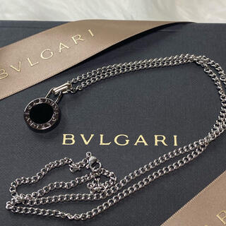 BVLGARI - 【新品正規品】BVLGARI ペンダント チャーム +チェーン 革紐 ネックレス