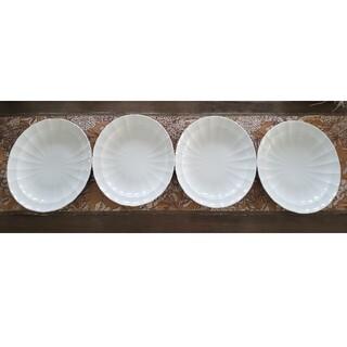 アフタヌーンティー(AfternoonTea)のアフタヌーンティー楕円プレート4枚セット(食器)