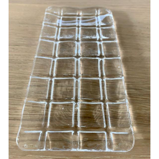 Sghr(スガハラ)のsghr 菅原ガラス 長方形プレート18cm 3点 インテリア/住まい/日用品のキッチン/食器(食器)の商品写真