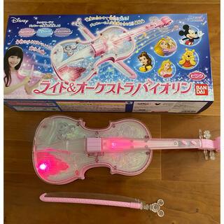バンダイ(BANDAI)のライト&オーケストラ バイオリン(楽器のおもちゃ)