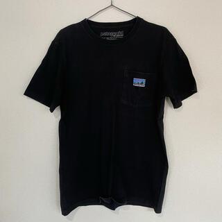 patagonia - パタゴニア 白タグ Tシャツ ブラック メンズM 旧ロゴ