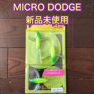 ジャッカル(JACKALL)のRAID JAPAN マイクロダッヂ MICRO DODGE レイニーフロッグ(ルアー用品)