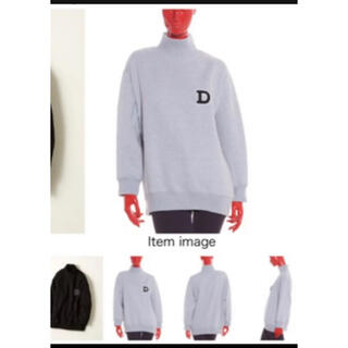 DOUBLE STANDARD CLOTHING - ダブルスタンダード ハイネック スウェット トレーナー 黒 新品未使用