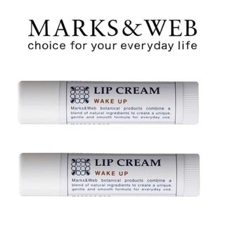 マークスアンドウェブ(MARKS&WEB)のマークスアンドウェブ ハーバルリップ ウェイクアップ 2個(リップケア/リップクリーム)