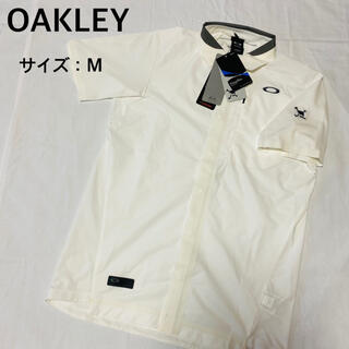 オークリー(Oakley)の【新品、未使用】オークリー メンズ 半袖シャツ サイズ:M(ウエア)
