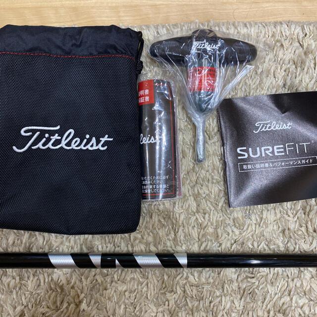 Titleist(タイトリスト)のタイトリストtis3ベンタスブラック6x スポーツ/アウトドアのゴルフ(クラブ)の商品写真