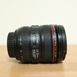 Canon - 【EF 24-70 F4 L IS USM】フード付き