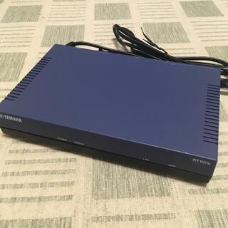 ヤマハ(ヤマハ)のYAMAHA ヤマハ イーサアクセスVPNルーター RT107e(PC周辺機器)