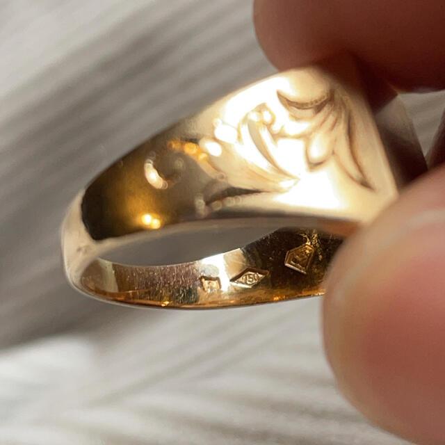 goro's(ゴローズ)のk18 印台 リング  メンズのアクセサリー(リング(指輪))の商品写真