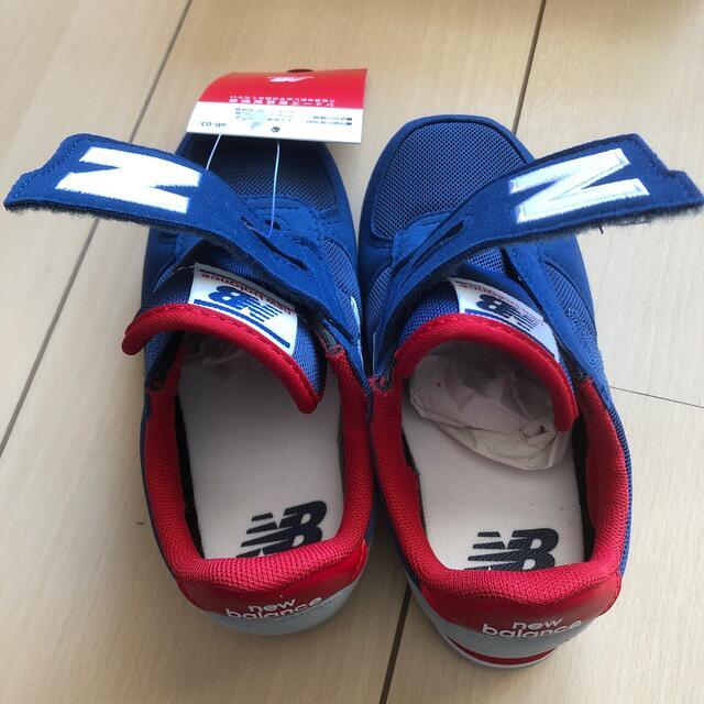 New Balance(ニューバランス)のニューバランス スニーカー 新品未使用 キッズ/ベビー/マタニティのキッズ靴/シューズ(15cm~)(スニーカー)の商品写真